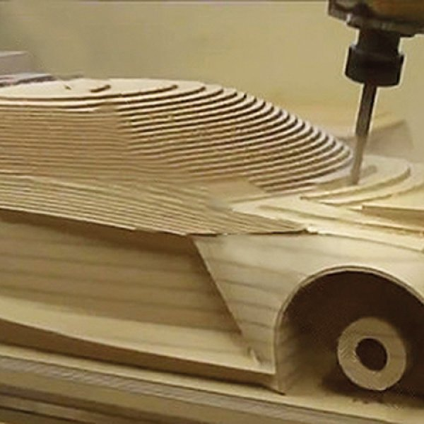 6 Axis Simultaneous Wood Processing