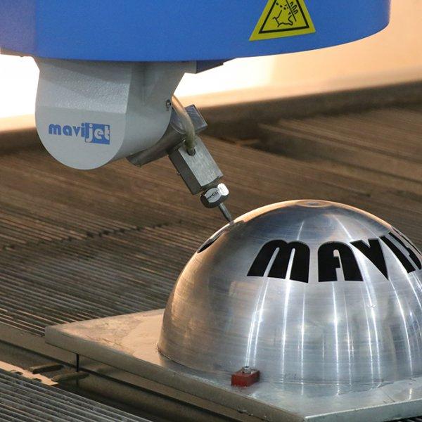 3D - 5 Eksen CNC Su jeti
