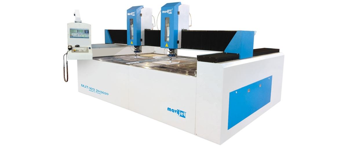 Double Headed CNC Waterjet